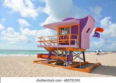 Miami Beach - Rescue baywatch
