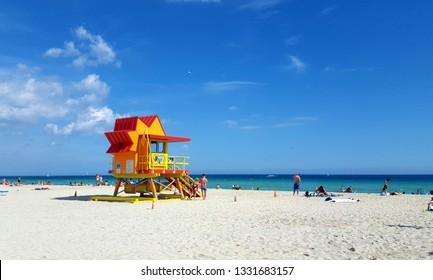 Miami Beach and sunshine