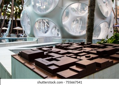 MIAMI, FL - NOVEMBER 11th, 2017: Miami Design District