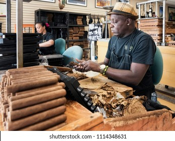Little Havana Cigar Factory Images, Stock Photos & Vectors