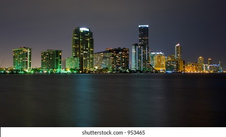 Miami From Key Biscayne