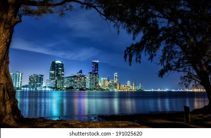 Miami Landscape from Key Biscayne