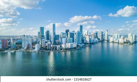 Miami Landscape Skyline