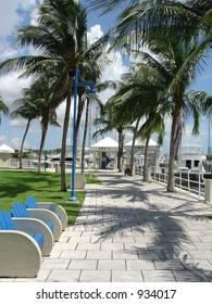 Miami Marina Walkway