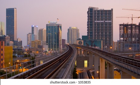 Miami from the Metro