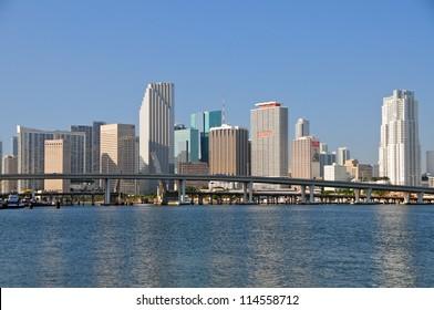 Miami skyline, Florida, USA