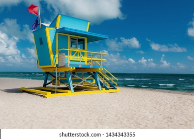 Miami South Beach New Lifeguard Tower