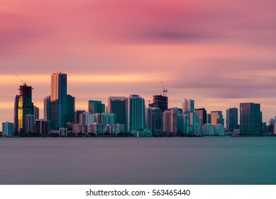 Miami Vice - Downtown Miami Skyline