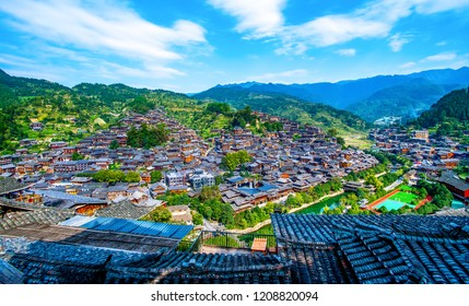 Miao villages in Guizhou, China