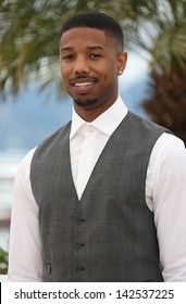 Michael B. Jordan at the 66th Cannes Film Festival - Fruitvale Station photocall, Cannes, France. 16/05/2013