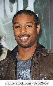 "Michael B. Jordan at the Los Angeles premiere of ""Sucker Punch"" at Grauman's Chinese Theatre, Hollywood. March 23, 2011  Los Angeles, CA Picture: Paul Smith / Featureflash"
