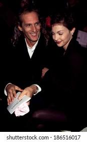 Michael Bolton, Ashley Judd at the Jill Stuart show in New York 7th on 6th fashion week, 10/30/96