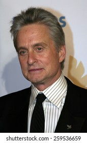 """Michael Douglas at the """"Ocean's Twelve"""" Los Angeles Premiere held at the Grauman's Chinese Theater in Los Angeles, California, United States on December 8, 2004."""