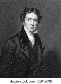 Michael Faraday (1791-1867). Engraved by J.Cochran and published in The National Portrait Gallery Of Illustrious And Eminent Personages encyclopedia, United Kingdom, 1835.