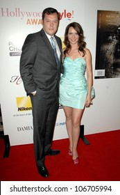 Michael Gladis and Janie Bryant  at the Hollywood Life's 5th Annual Hollywood Style Awards. Pacific Design Center, West Hollywood, CA. 10-12-08