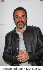 Michael Irby arrives at The Rafi 2019 Pre-Oscars Gifting Lounge at the Waldorf Astoria Hotel, Beverly Hills, CA on Feb. 22, 2019.