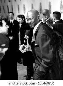 Michael Jordan being interviewed at the Sports Illustrated Century Sports Awards, 12/2/99