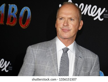 Michael Keaton at the World premiere of 'Dumbo' held at the El Capitan Theatre in Hollywood, USA on March 11, 2019.