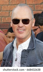 Michael Keaton at the World premiere of 'Spider-Man: Homecoming' held at the TCL Chinese Theatre in Hollywood, USA on June 28, 2017.