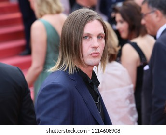 Michael Pitt attends the screening of 'The Wild Pear Tree (Ahlat Agaci)' during the 71st annual Cannes Film Festival at Palais des Festivals on May 18, 2018 in Cannes, France.