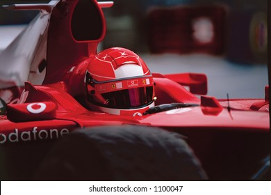 Michael Schumacher, F1 Champion - front view