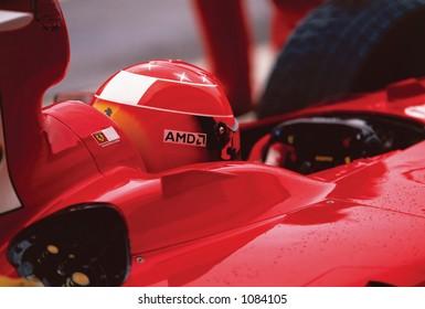 Michael Schumacher, F1 Champion - rear view