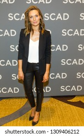 Michaela McManus - attends the press Junket during the SCAD aTVfest 2019 at the Four Seasons Hotel on February 09th, 2019 in Atlanta, Georgia