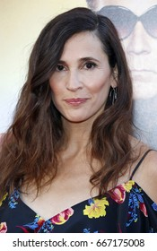Michaela Watkins at the Los Angeles premiere of 'The House' held at the TCL Chinese Theatre in Hollywood, USA on June 26, 2017.
