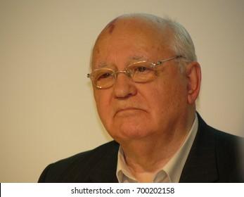 Michail Gorbatschow at the Frankfurt Bookfair / Buchmesse Frankfurt 2008 in Frankfurt am Main, Germany
