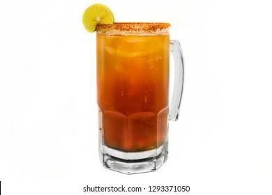 Michelada Beer in jar