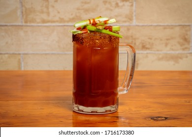 Michelada with Chili and Fruit