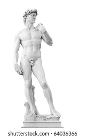 Michelagelo's David on Piazza della Signoria