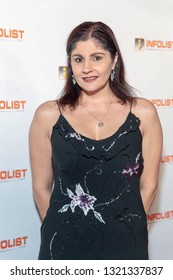 Michele Headley attends 2019 InfoList's Pre-Oscars Soiree at Skybar at the Mondrian Hotel, West Hollywood, CA on February 20th, 2019