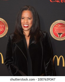 Michelle Ebanks arrives on the Red Carpet for the 26th annual Bounce Trumpet Awards on January 20th 2018 at the Cobb Energy Performing Arts Centre in Atlanta Georgia-USA