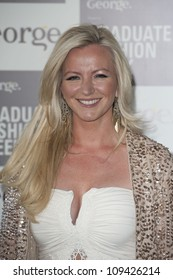 Michelle Mone arriving for the Graduate Fashion Week Awards, Earls Court London. 13/06/2012 Picture by: Simon Burchell / Featureflash