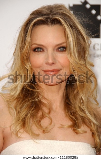 "Michelle Pfeiffer at the Los Angeles premiere of ""Hairspray"". The Mann Village Theatre, Westwood, CA. 07-10-07"