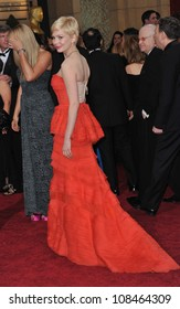 Michelle Williams at the 84th Annual Academy Awards at the Hollywood & Highland Theatre, Hollywood. February 26, 2012  Los Angeles, CA Picture: Paul Smith / Featureflash