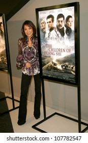 """Michelle Yeoh  at the Los Angeles Premiere of """"The Children of Huang Shi"""". The Landmark Theatre, Westwood, CA. 05-15-08"""