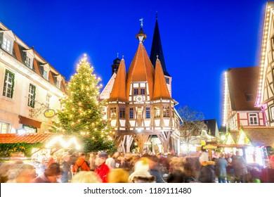 Michelstadt, Christmas Market, Germany