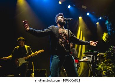 MICHIGAN, USA - May 19, 2017: Khalid performs live at 20 Monroe Live