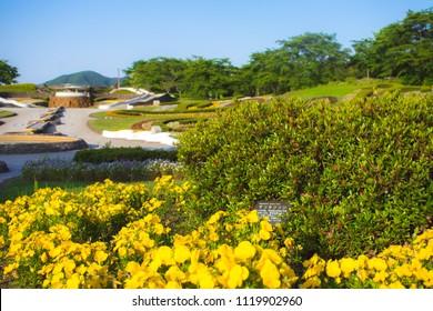 Michinoku national park in Miyagi prefecture Japan - during summer Landscape photography