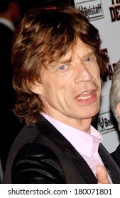 Mick Jagger at THE DEPARTED Premiere, Ziegfeld Theatre, New York, NY, September 26, 2006