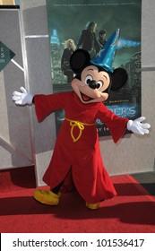 "Mickey Mouse at the  ""The Sorcerer's Apprentice"" Film Premiere, Walt Disney Studios, Burbank, CA 07-12-10"