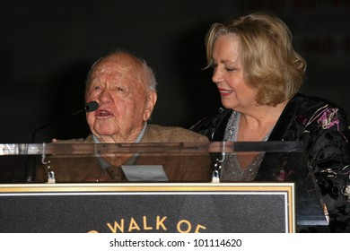 Mickey Rooney, Jan Rooney at thr Hollywood Walk of Fame's 50th Birthday Bash,  Kodak Theater Grand Ballroom, Hollywood, CA. 11-03-10