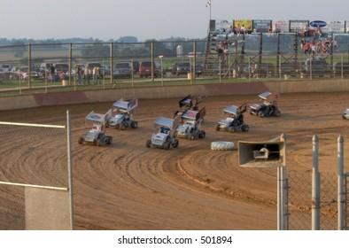 Micro Sprints Racing
