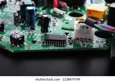 microchips electronic components