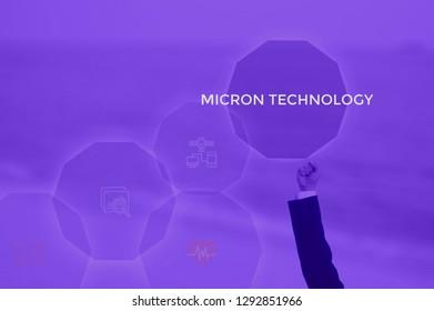 micron technology concept