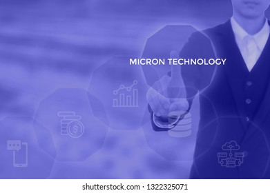 micron technology - science concept