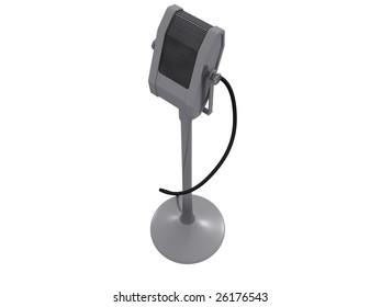 microphone. 3D