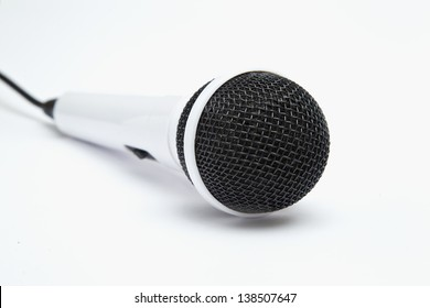 microphone in 3d isolated on a white background